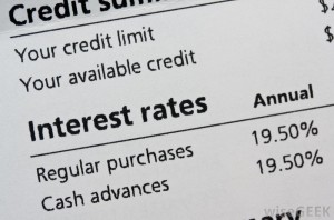what does finance rate apr mean