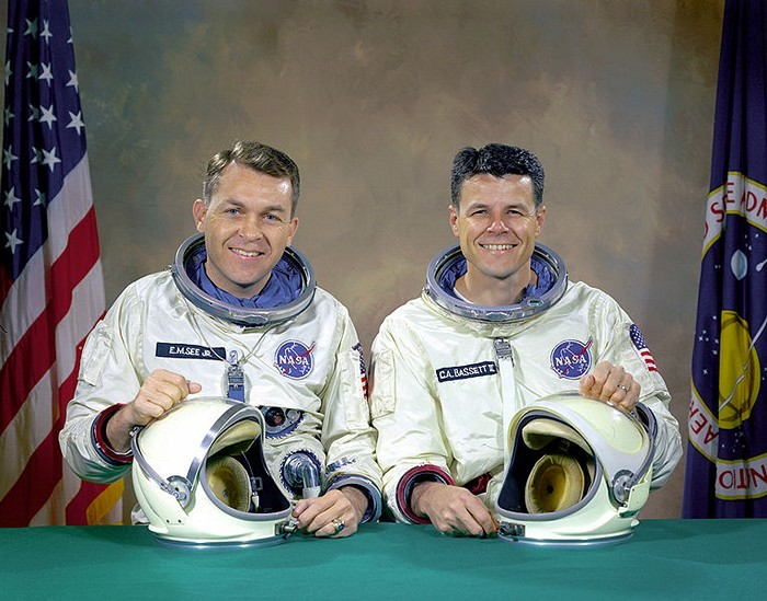 Elliot See and Charles Bassett – Gemini 9